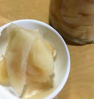 新生姜のレモン酢漬け