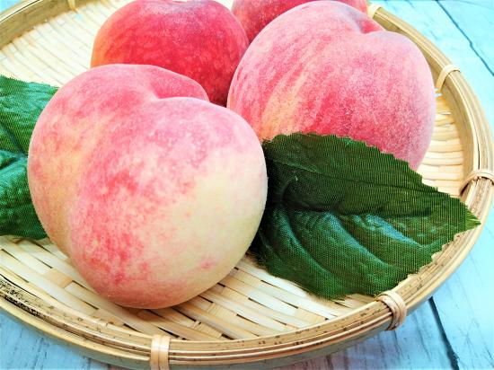美味しい桃の見分けるポイント