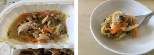 あさりと野菜の炒め煮