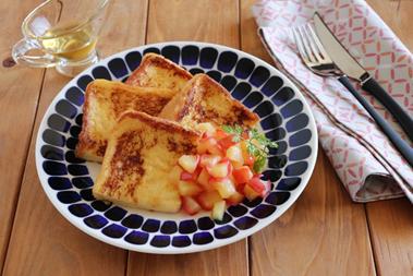レシピ|りんごのフレンチトースト