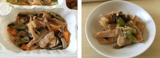豚肉とアスパラのピリ辛炒め