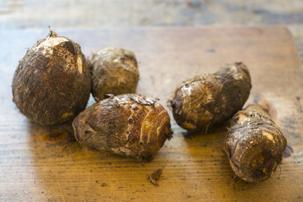 里芋の下処理方法