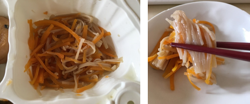 エノキ茸の煮浸し