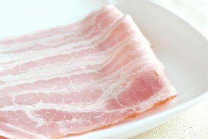 ベーコンの気になるカロリーと栄養について