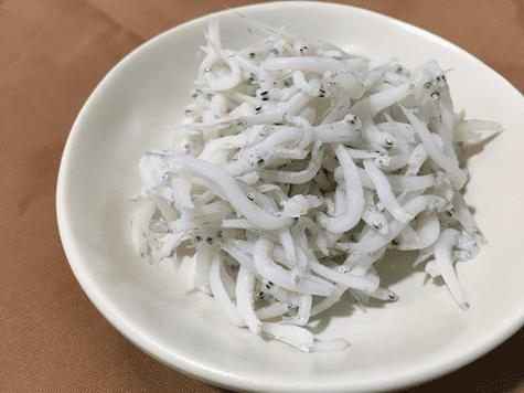しらすの栄養|白い稚魚の総称