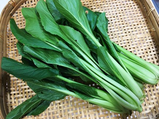 小松菜はくせがなくて栄養満点!