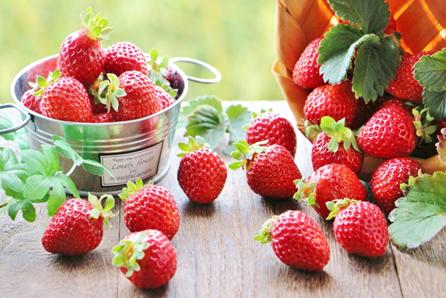美肌効果や風邪予防の効果も!いちごの栄養について