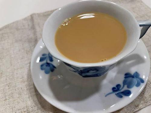 【ルイボスティーの豆乳ラテ】
