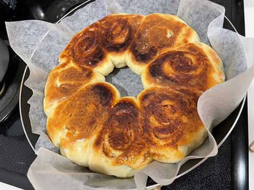 オーブン不要 フライパンで作るパン