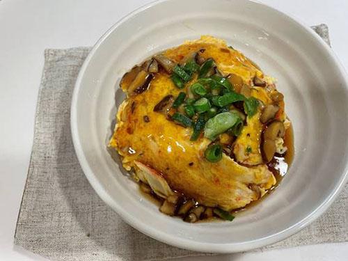 ふんわり卵のとろとろ中華あんかけを作ろう