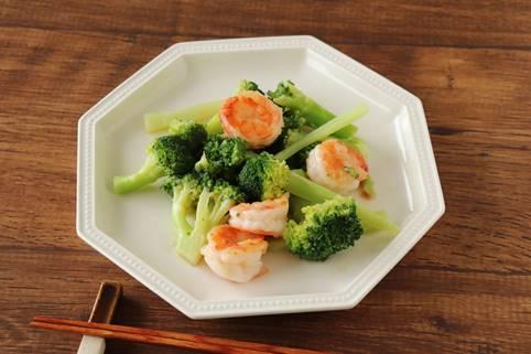 レシピ|えびとブロッコリーの中華風炒め